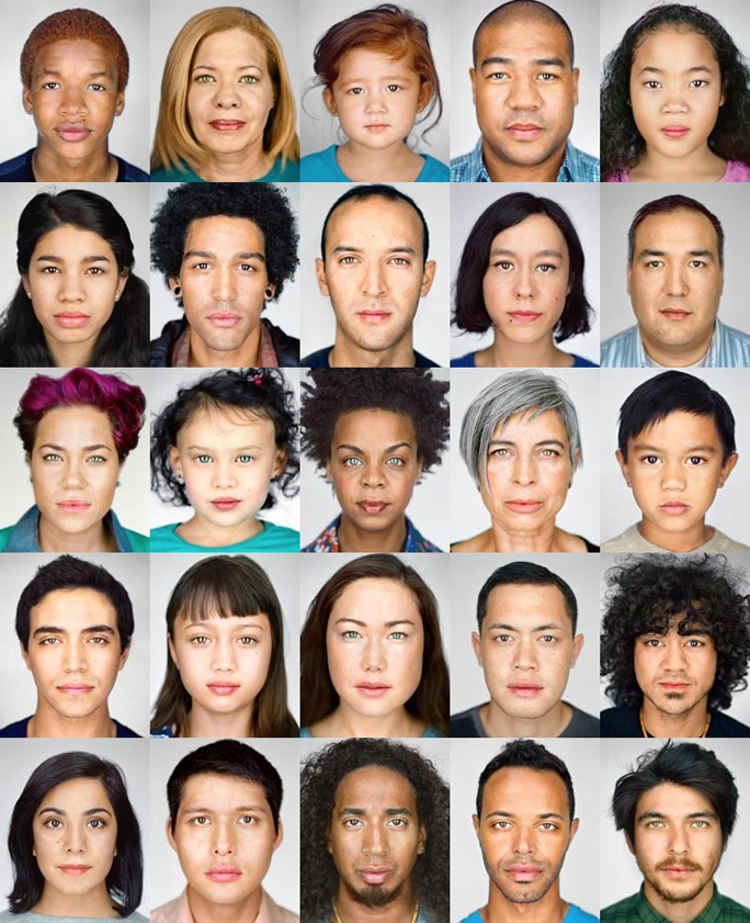 Image credit Martin Schoeller. Click to view his pictorial in National Geographic.
