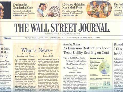 Click to read the full article in the Wall Street Journal