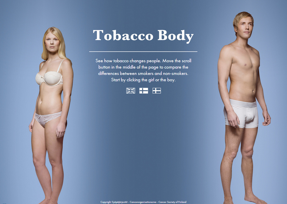 Click to try the TobaccoBody interactive website