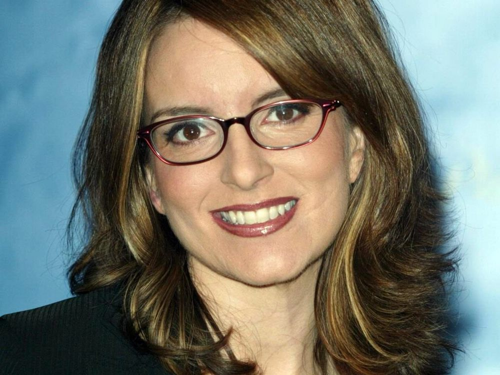 Actress and comedian Tina Fey