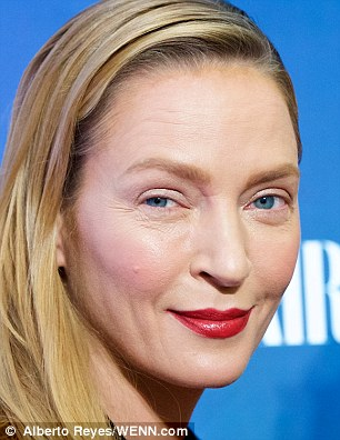 Uma Thurman, on Monday