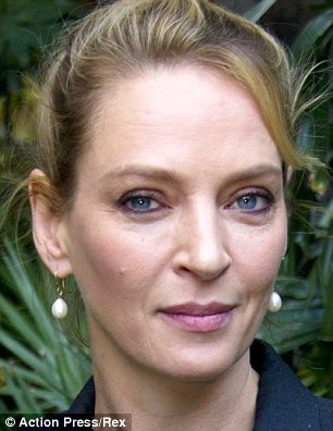 Uma Thurman, three weeks ago