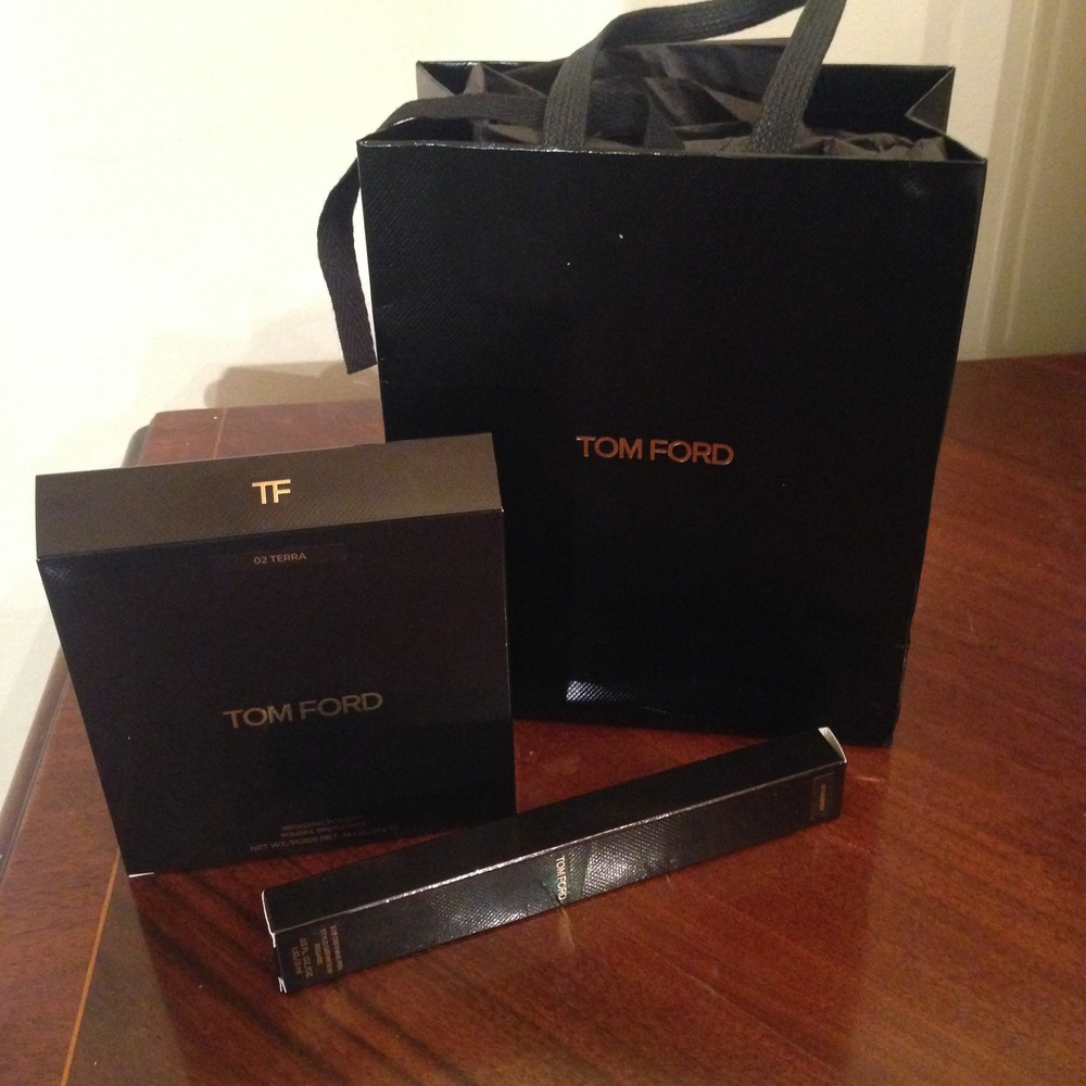 Tom Ford beauty products from a Botox and skin care patient