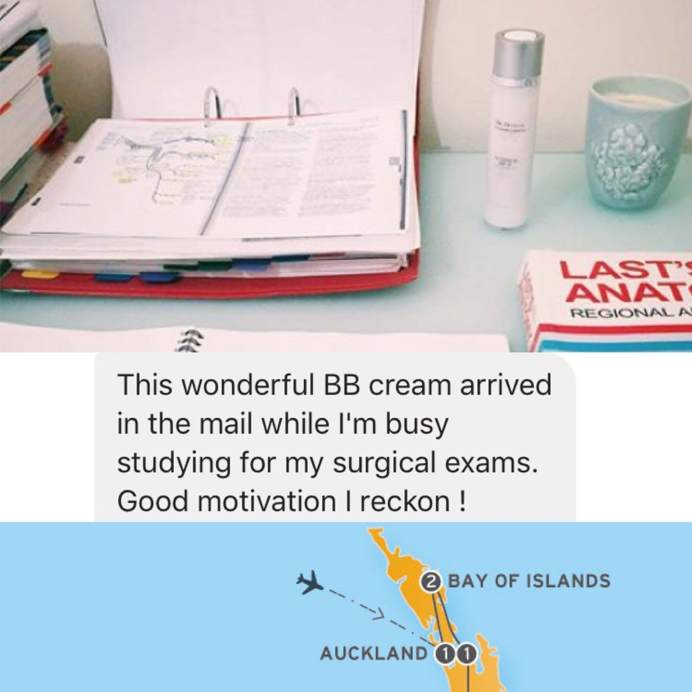 Facebook image from a happy New Zealand client