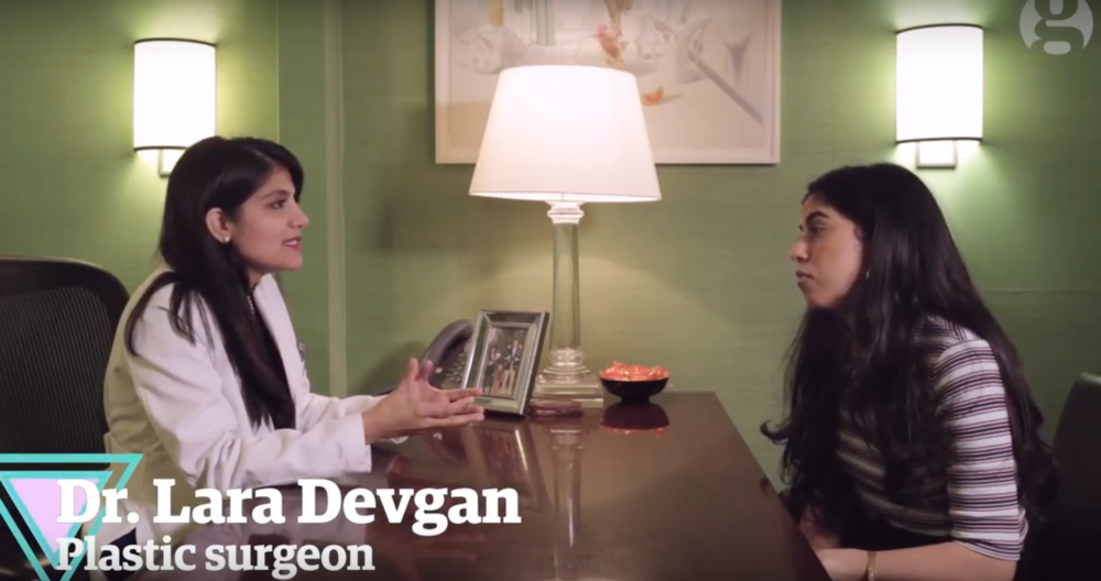 Dr. Devgan appears in a documentary series about labiaplasties in The Guardian