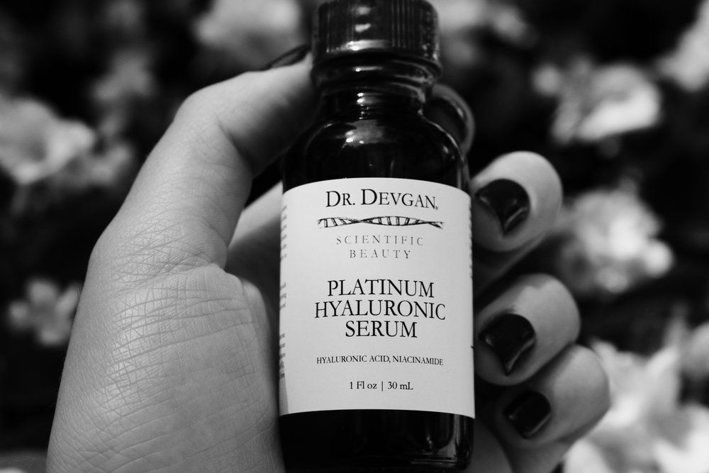 Scientific Beauty's Platinum Hyaluronic Serum