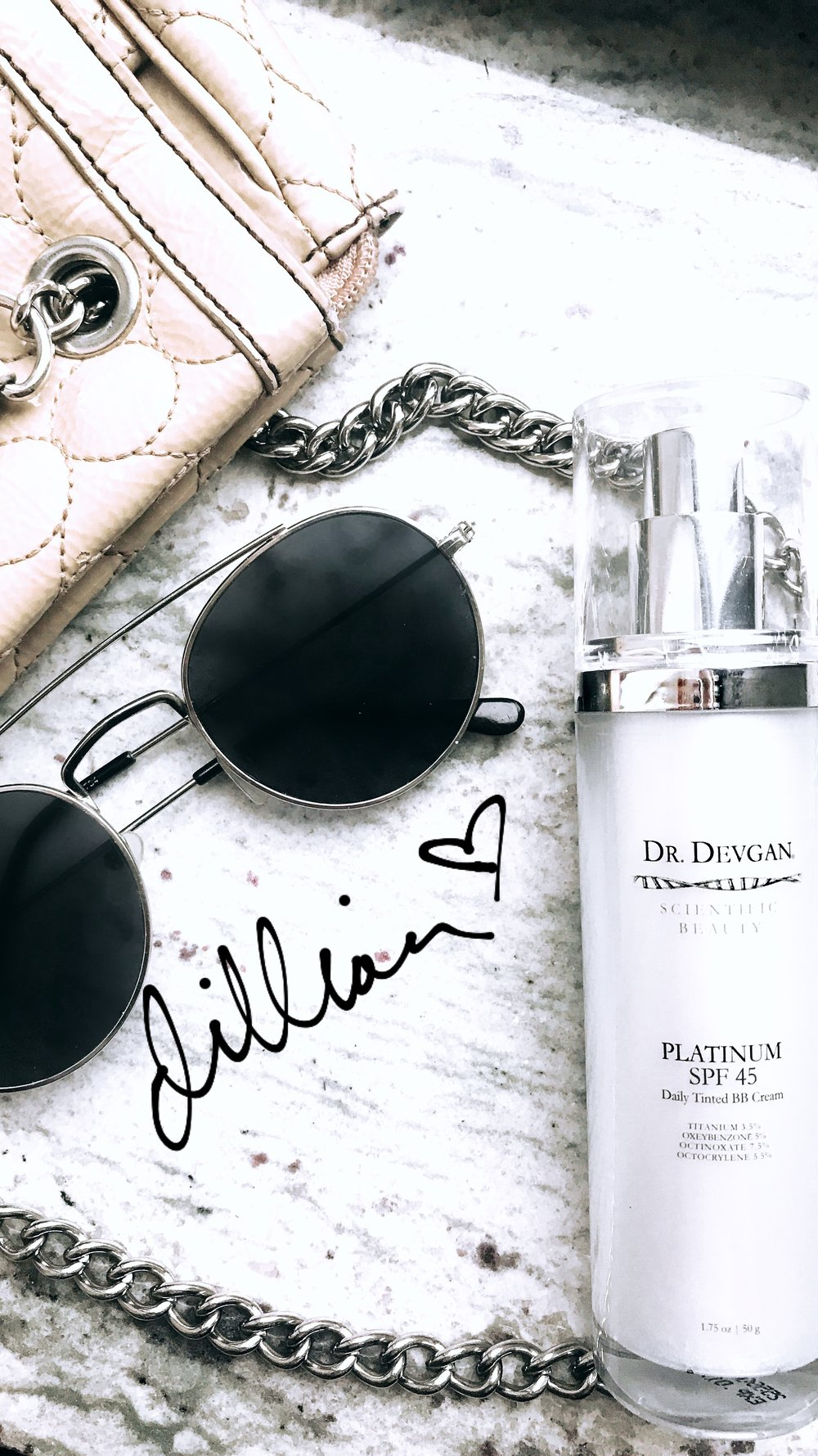 Dr. Devgan's Scientific Beauty Platinum SPF 45 Daily Tinted BB Cream
