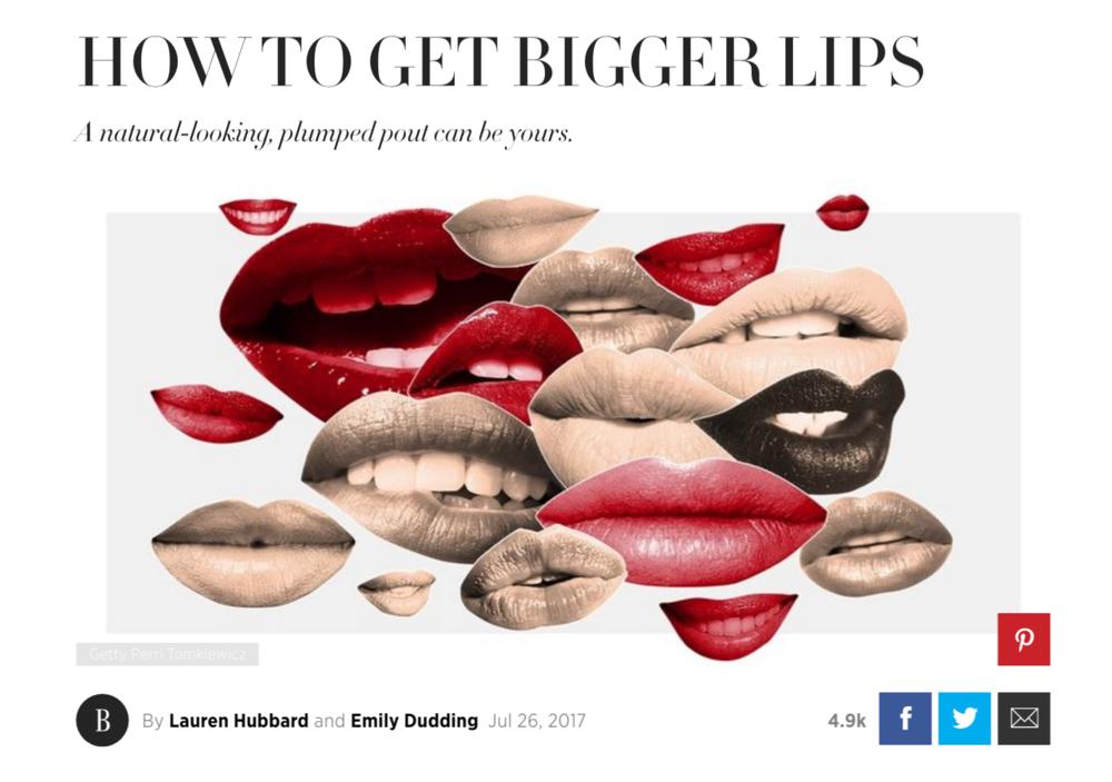 Dr. Devgan is featured in an article in Harper's Bazaar