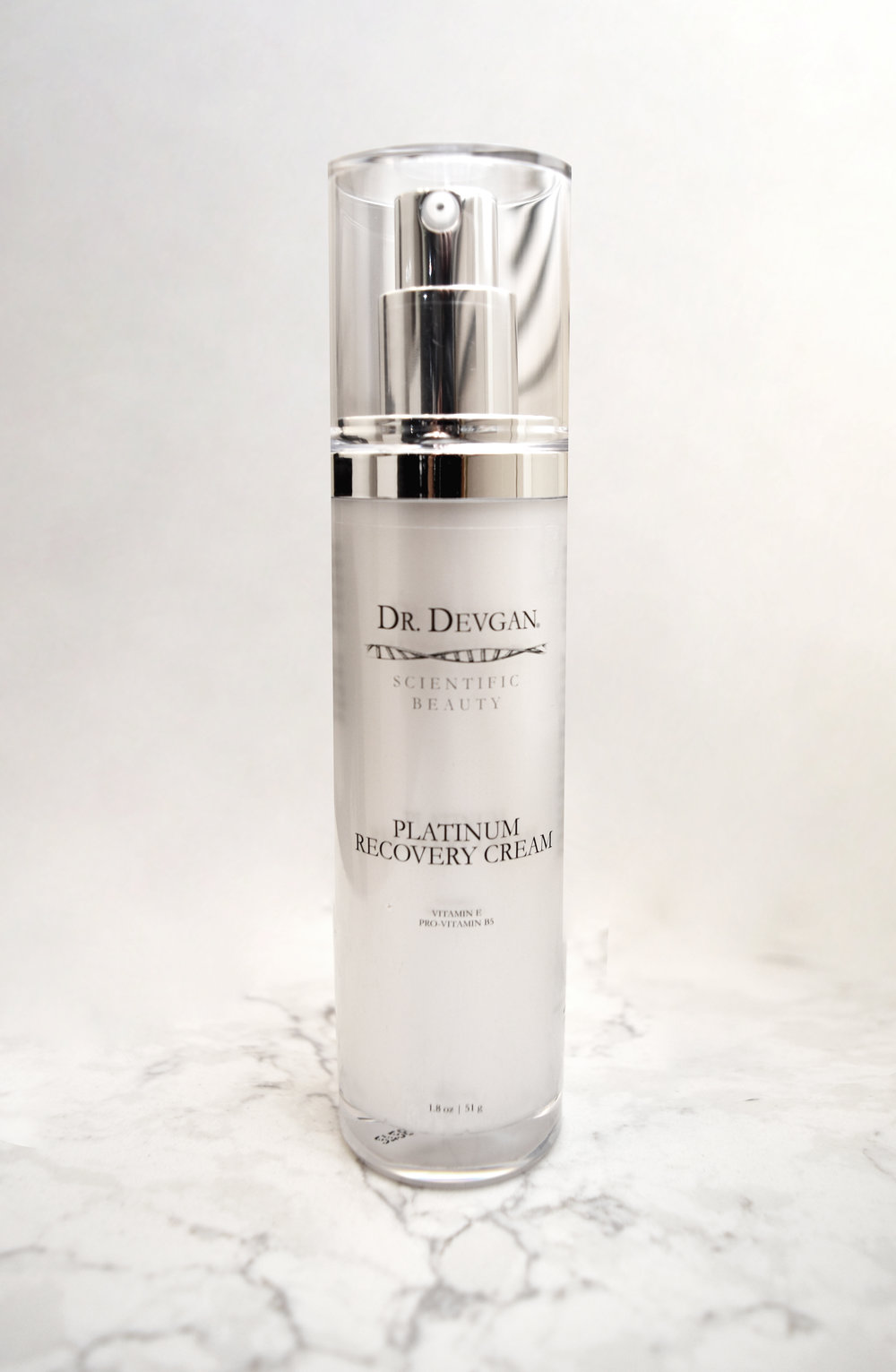 Dr. Devgan's Platinum Recovery Cream