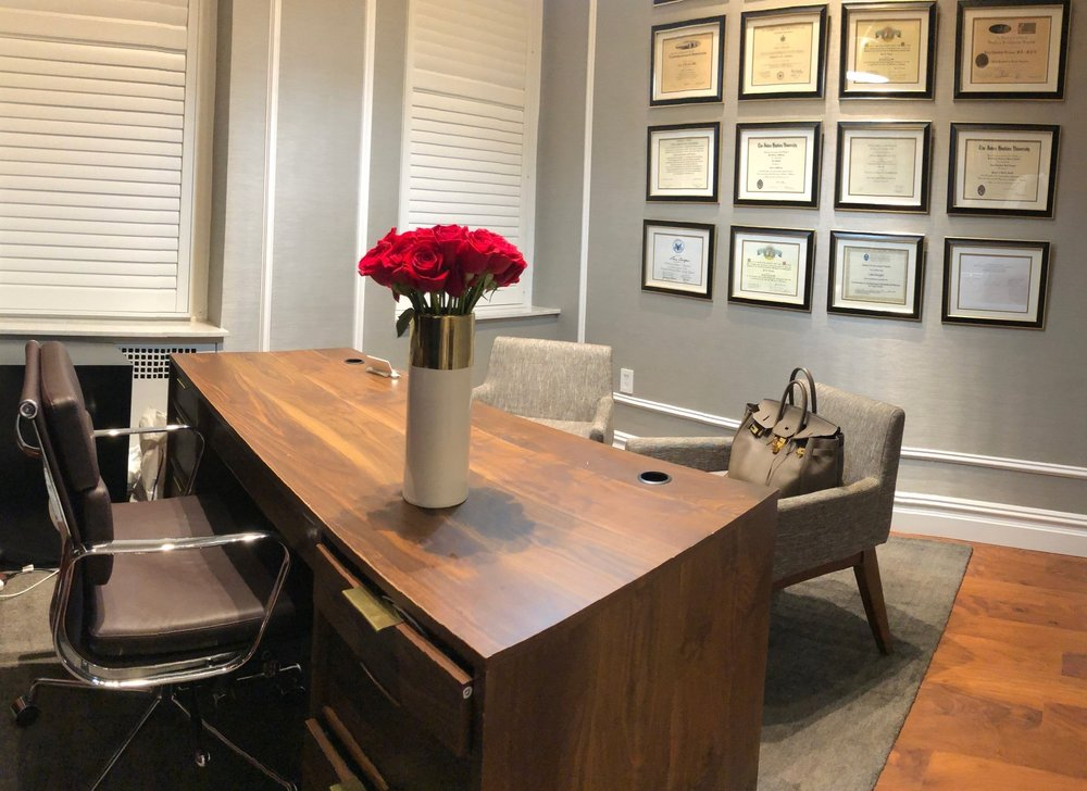 Discuss your confidential concerns with Dr. Devgan in her private office.