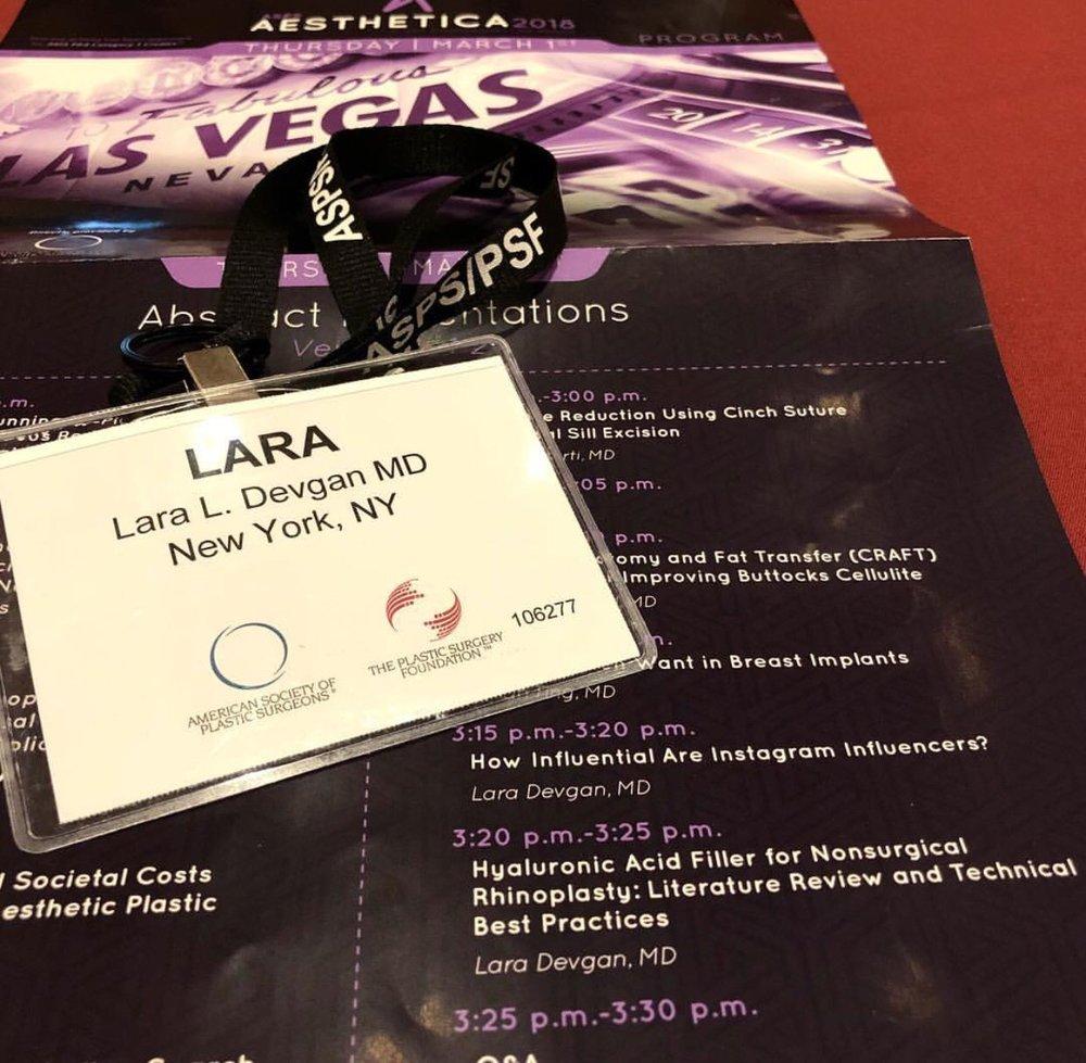 Aesthetica Super Symposium Lara Devgan