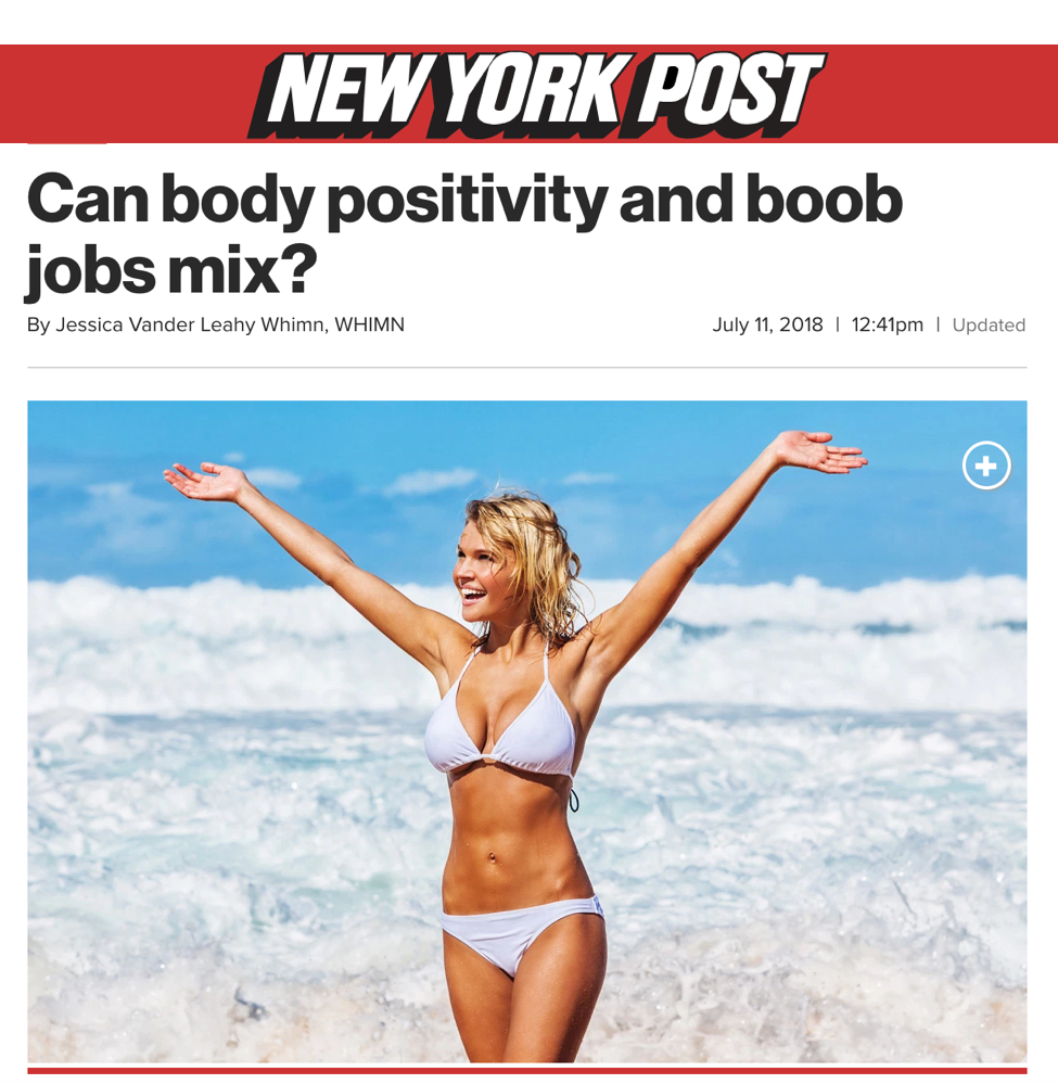 Dr. Devgan featured in the New York Post.