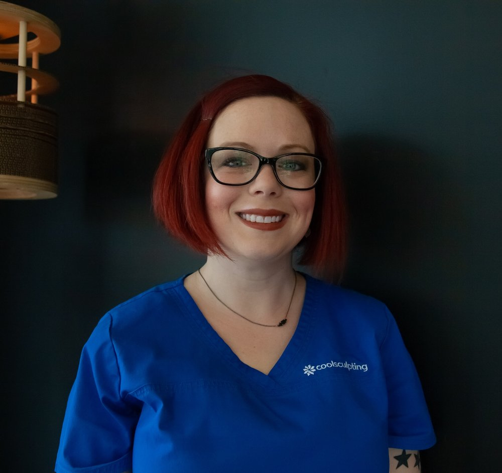 Katie - Coolsculpting and laser are her passions. Katies embraces everything health and wellness. From wrinkle reduction to fat reduction, there's nothing this girl can't do. Come in have her customize head to toe beauty plan that you'll be loving for years to come!