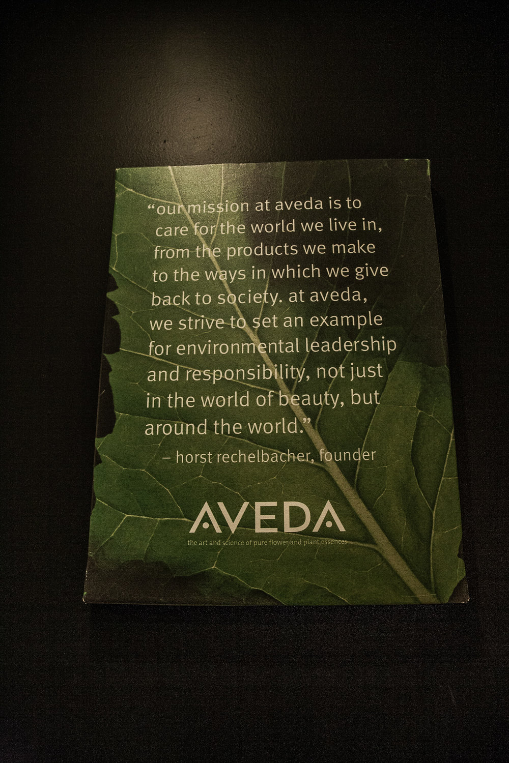 We are a proud Aveda Concept Salon!  - Many salons you may find have a shelf or two of Aveda products.  At Hidden Oasis, we have a complete commitment to Aveda and it's mission.  Our Salon uses only top quailty Aveda products from color application to finishing and styling.