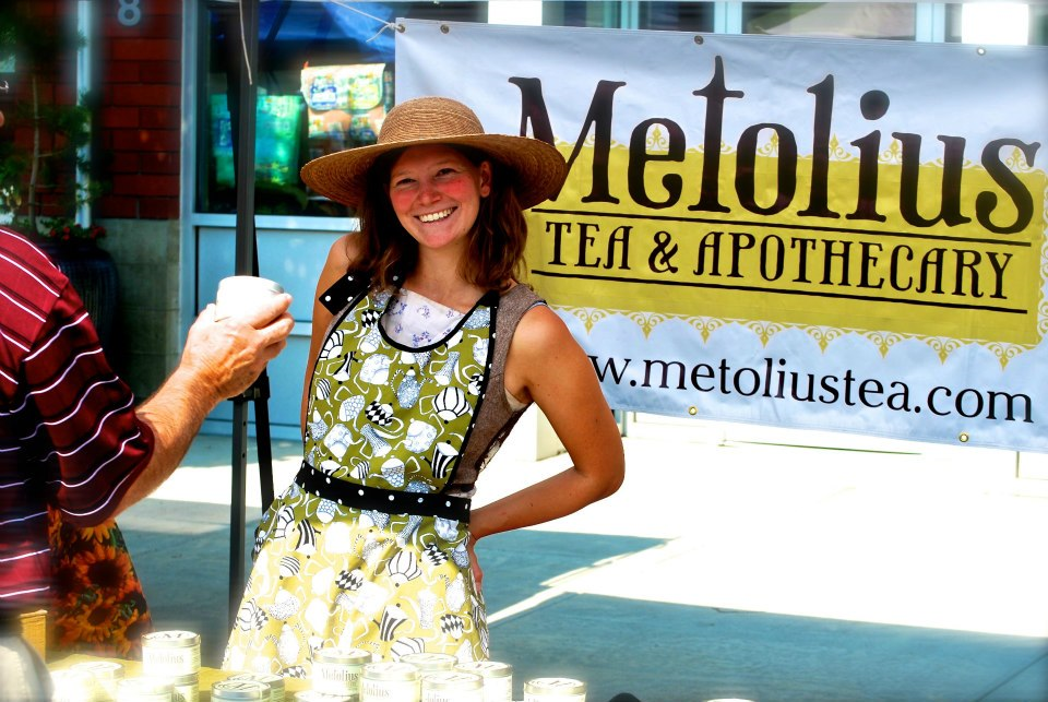 Amy Seidenverg - Owner of Metolius Artisan Tea