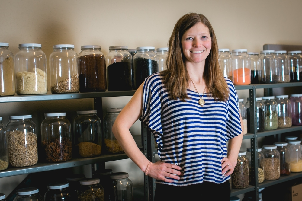 Amy Seidenverg - Owner of Metolius Artisan Tea