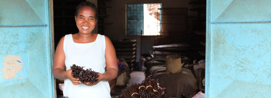 Vanilla Bean Farmer in Madagascar