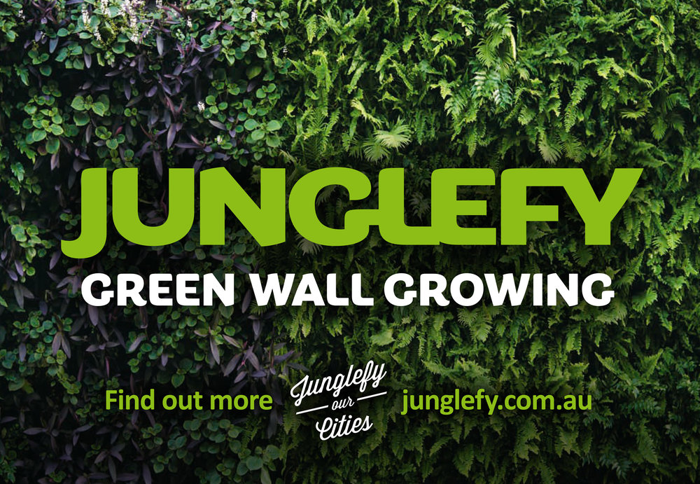 Sign - for Junglefy (via Tin Shed Marketing)