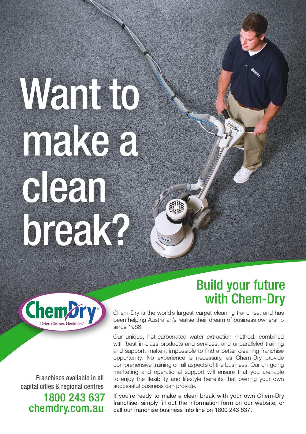 Magazine Ad - ChemDry