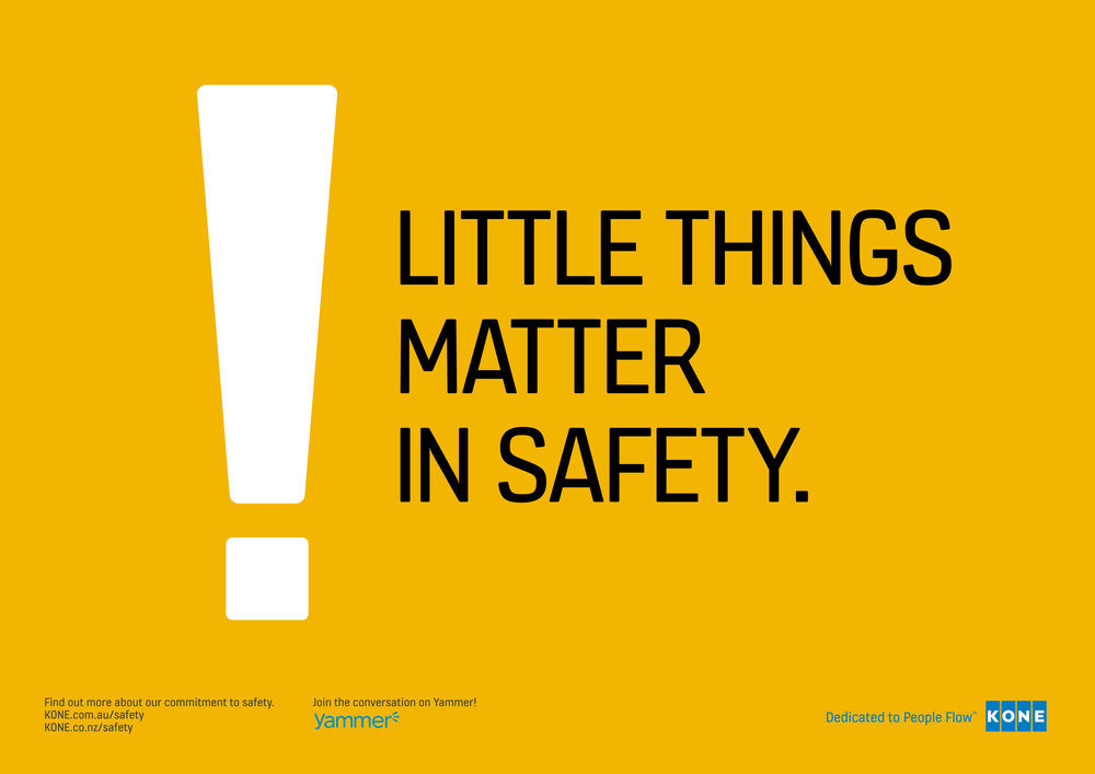 Advert - KONE Safety Week