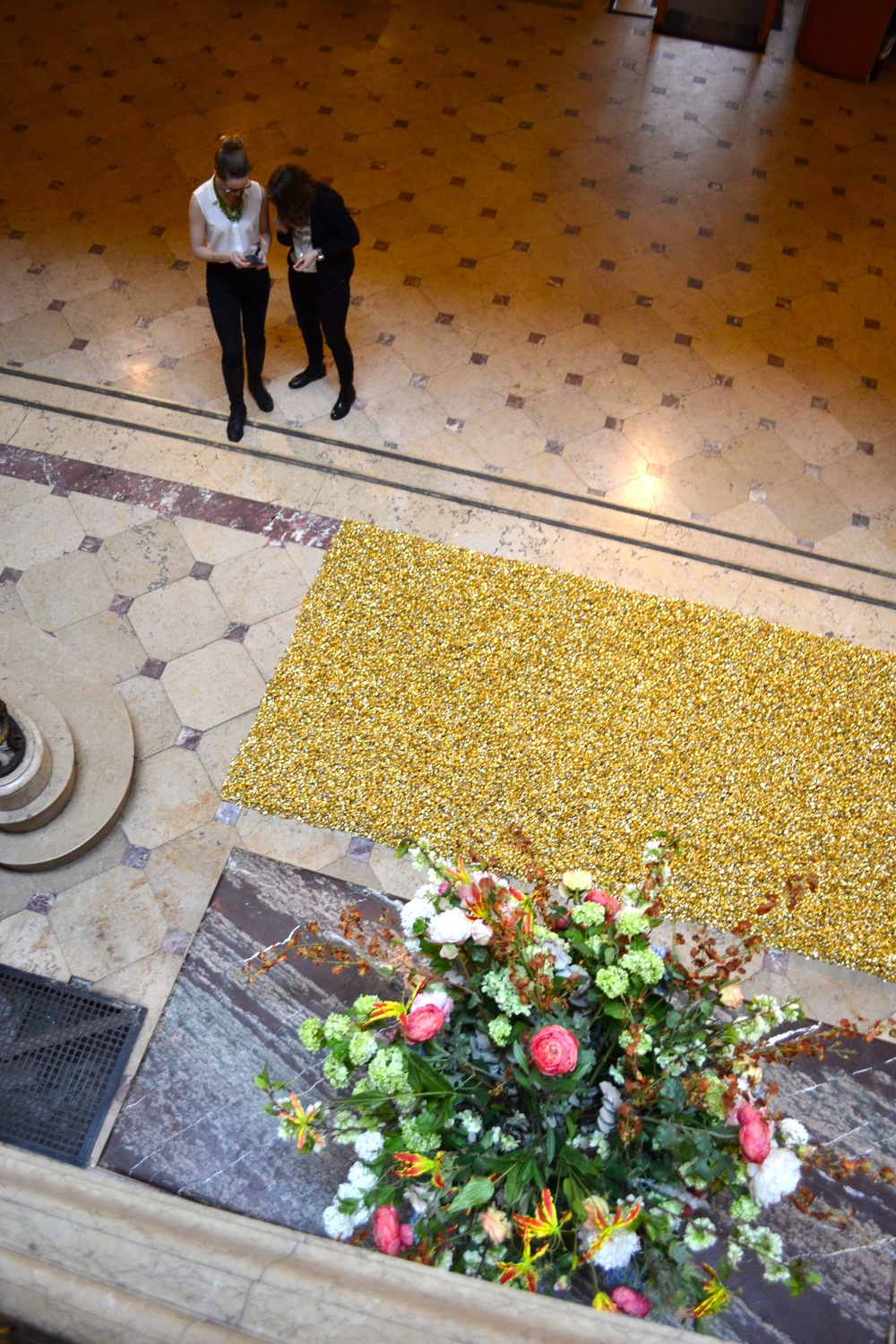 Installation view, Felix Gonzalez-Torres, Great Hall Exhibition, IFA, Spring 2015