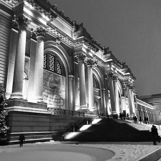 Good night and good luck. #notsoemptymet #snow