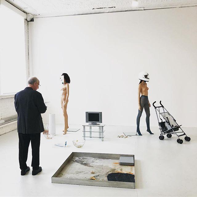 PSA: Cathy Wilkes at PS1 closes this week! #contemporaryart #themalegaze #installationart