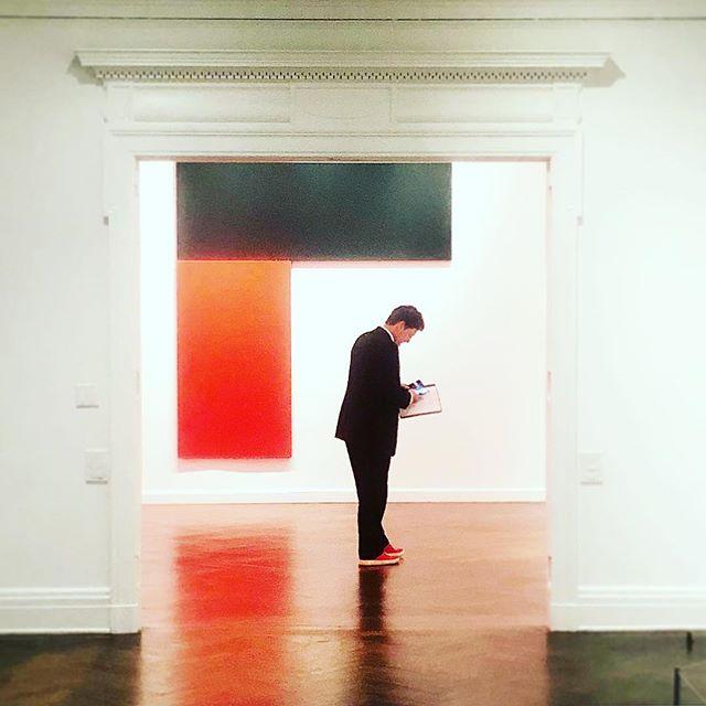When life imitates art. #seeingred #ellsworthkelly #abstractart #latergram