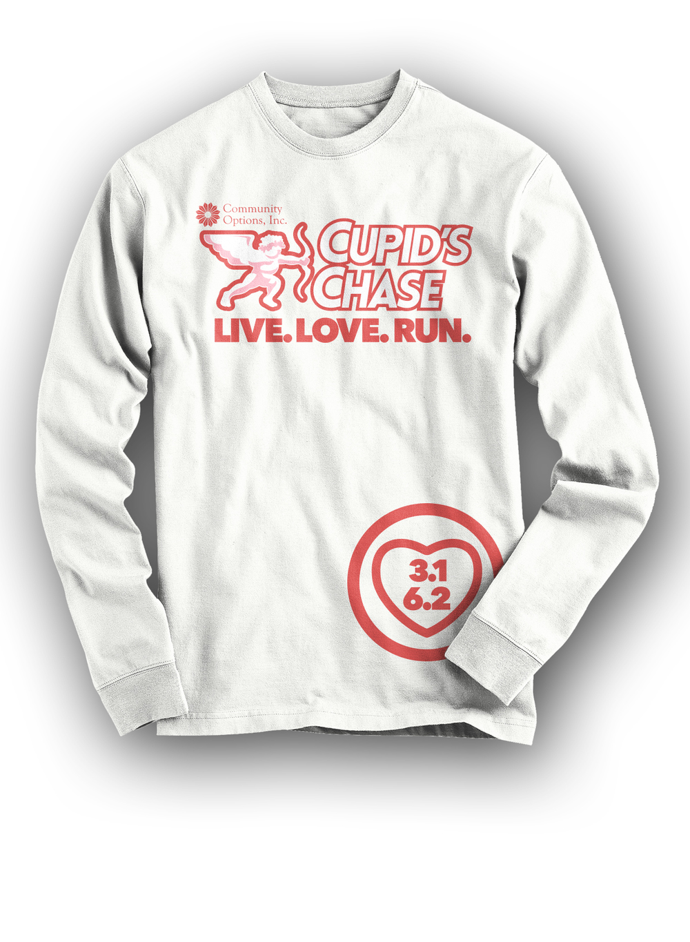 Long sleeve commemorative shirt