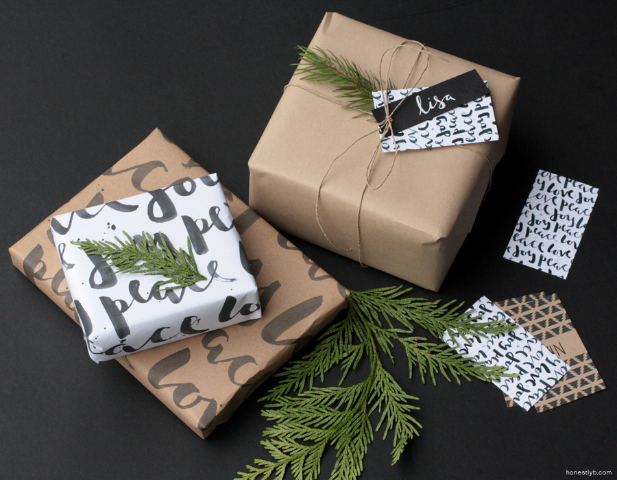 wrapping // honestly, b.