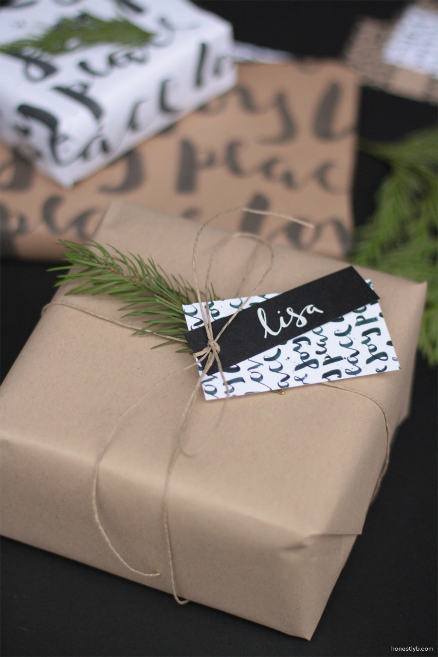 wrapping | honestly, b.