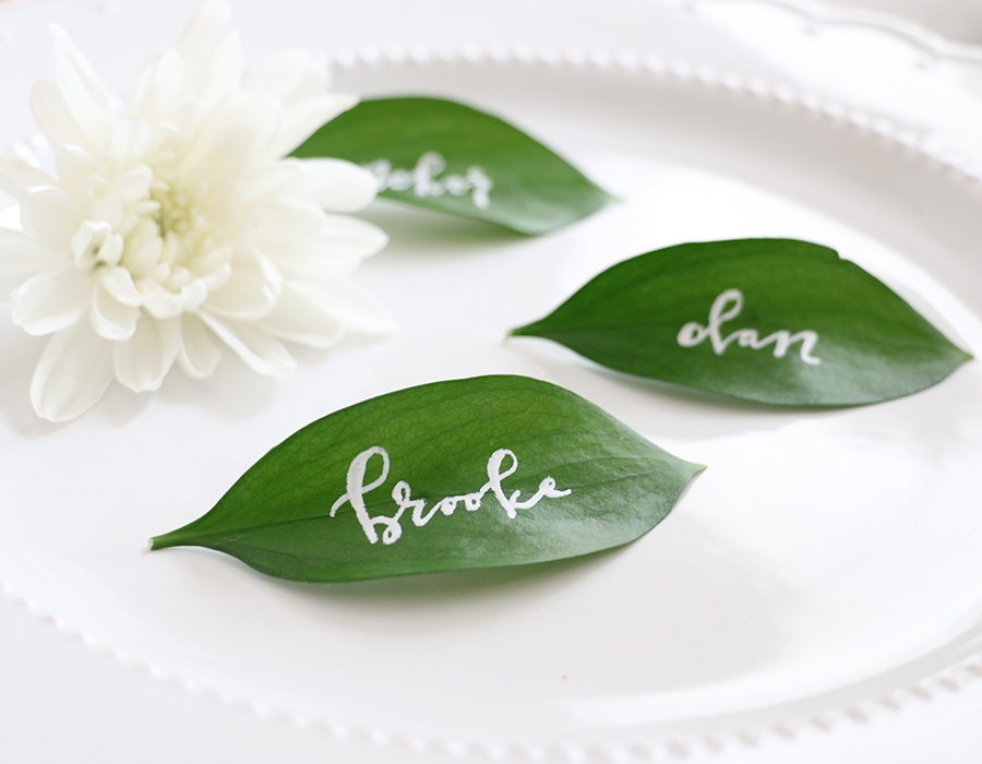 DIY place cards | honestly, b.