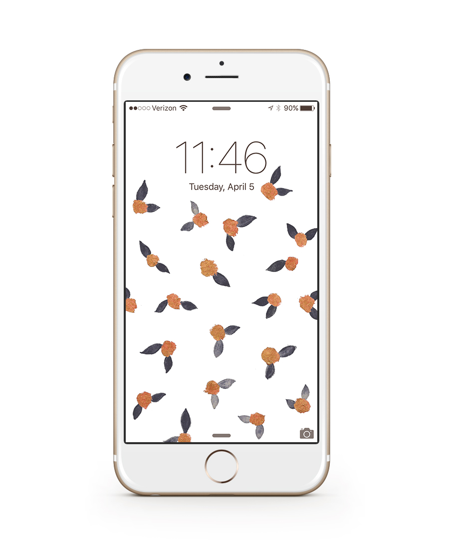 floral wallpaper | honestly, b.