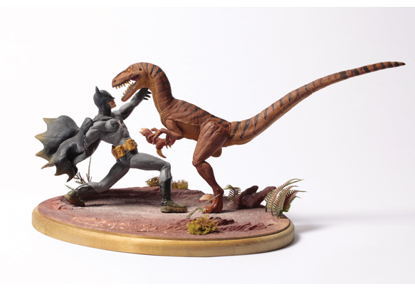 Jesse Farrell - Batman vs. Velociraptor- Jesse Farrell.jpg