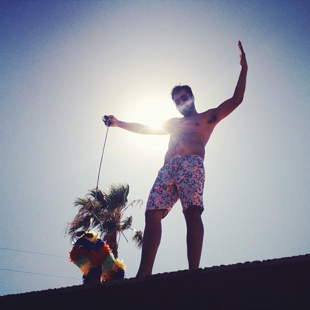 Rooftop piñata | SUNDAY