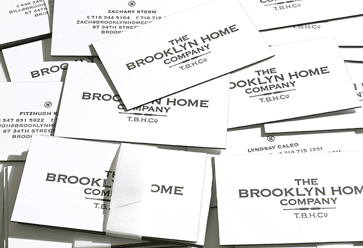 BROOKLYN HOME COMPANY:  design of logo and company identity