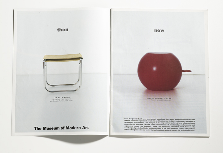 MoMA: catalog art direction and design. photography: antoine bootz