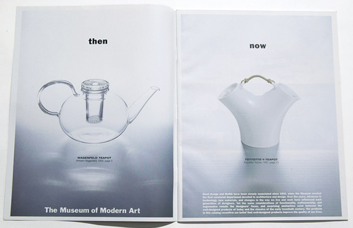 MoMA: catalog art direction and design. photography: charles masters