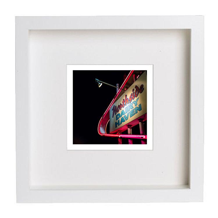 Northside Dairy Haven Sign signed framed print — Steve Hartman Fine Art