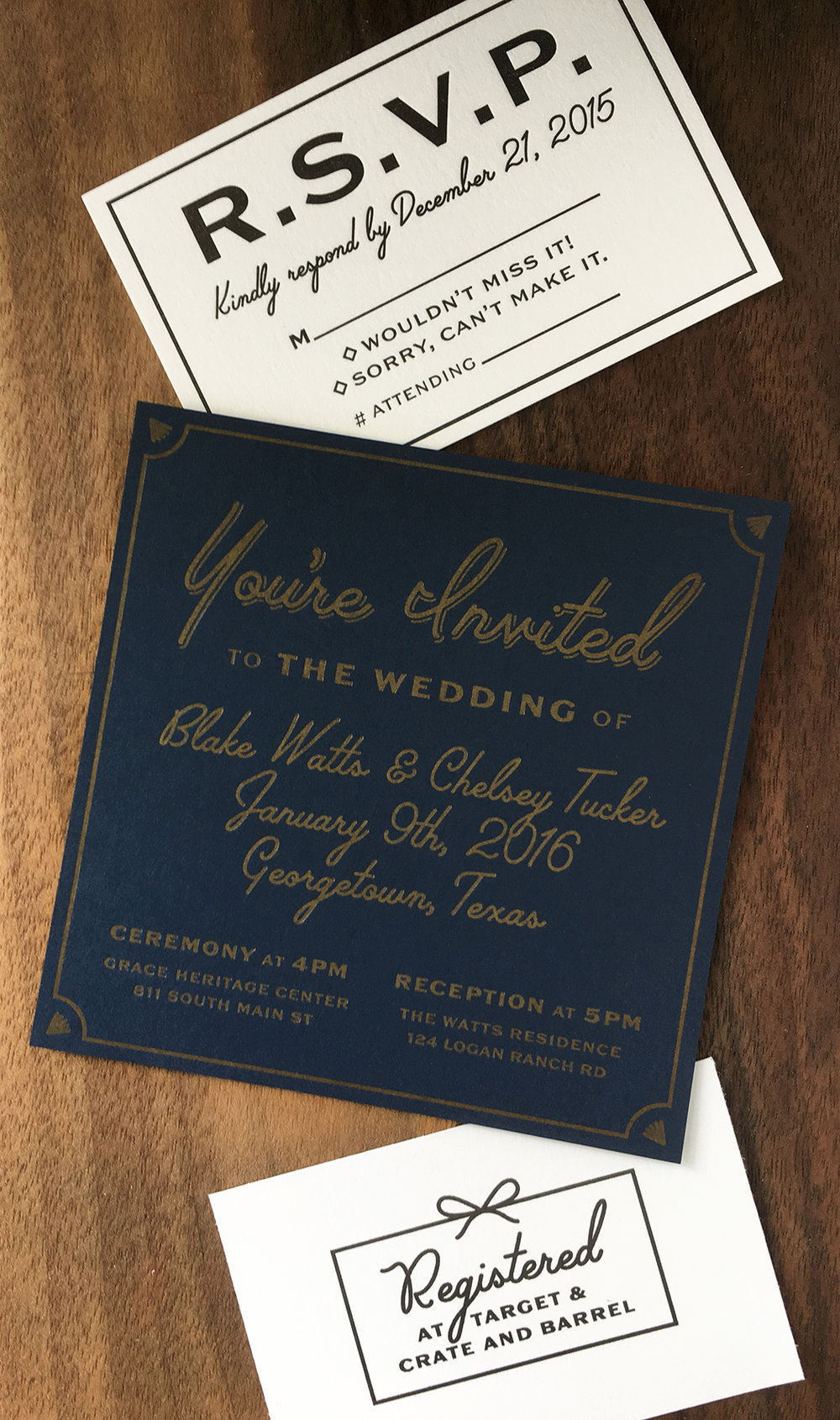 My Wedding Invites