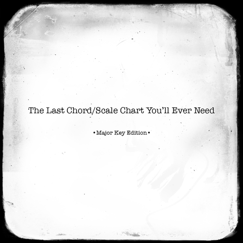 The Last Chord/Scale Chart You\'ll Ever Need (Major Key Edition ...