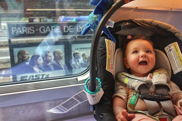 Our friends @trekaroo let us hijack  their feed for a few days!  Thinking about what to share with all my fellow wanderlusts I was thrown back to this moment with 6 month old Elodie, just about to get off in Paris after her first TGV ride from Barcelona - one of our first and favorite memories of traveling with little kids. .... We're often asked by friends & colleagues how (and why) we travel with such little kids - now 1 & 3. Like us, they love to travel but now with kids and jobs don't have the freedom they once did. They feel intimidated trying to figure out where to go that's kid friendly enough without sacrificing their own fun. ...... I'm sure everyone here has had those moments or gets the same questions from their friends.  We've broken down our top tips & rules for keeping the adventures going, even with the littlest tag-alongs. Pop over to our blog for our take!  And let us know what your best tips are!