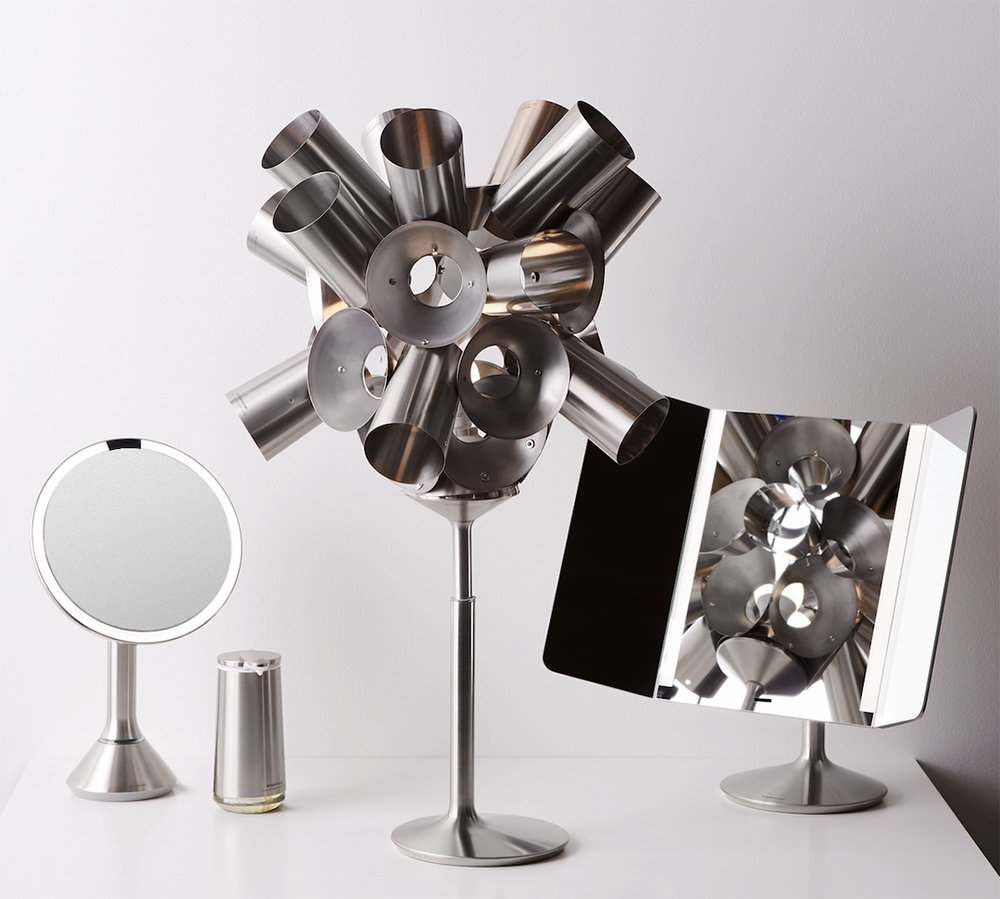 simplehuman for Earth Day - Non-profit Made Our Of What and artist Aaron Kramer.
