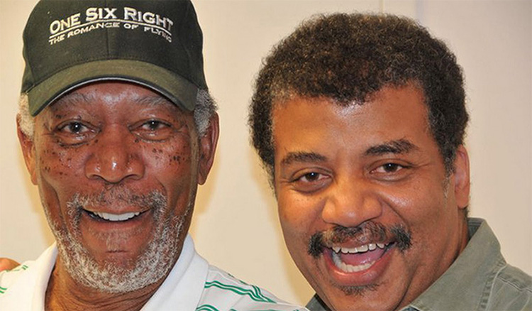 A Conversation between Morgan Freeman and Neil Degrasse Tyson for Star Talk Radio, February 26th 2012.