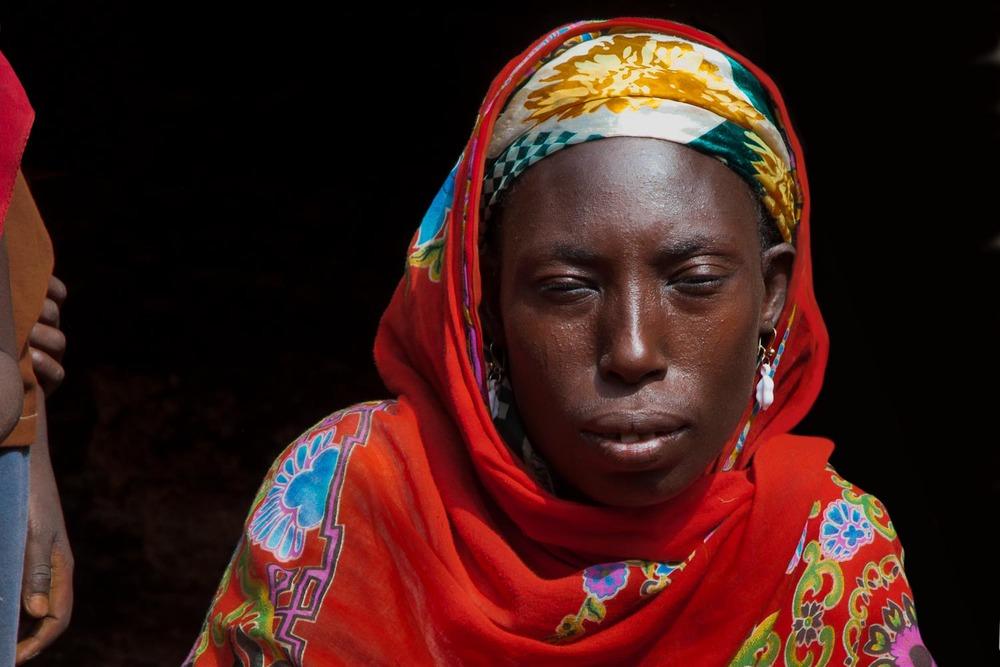 A village woman.