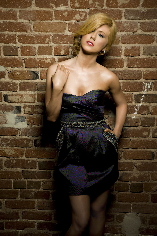 Kristine Elezaj Photographed by Bradford Rogne