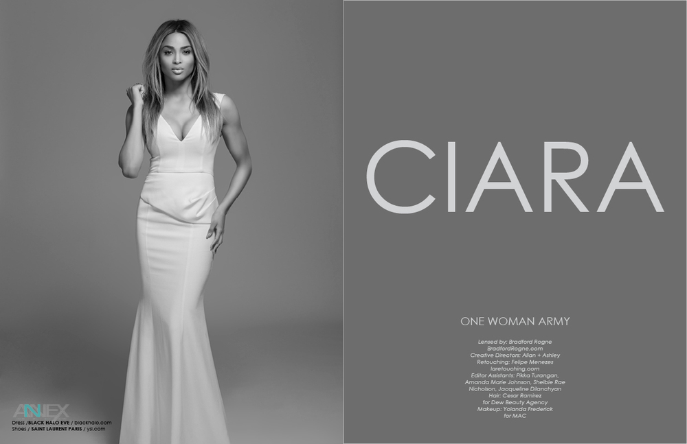 Ciara Photographed by Bradford Rogne