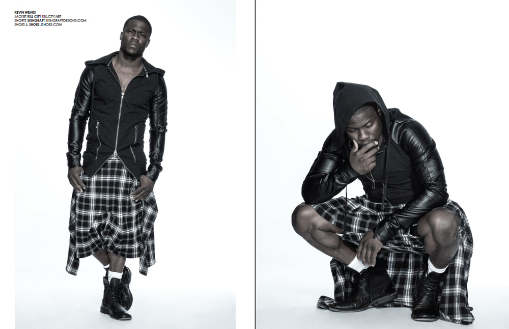 Kevin Hart Photographed by Bradford Rogne