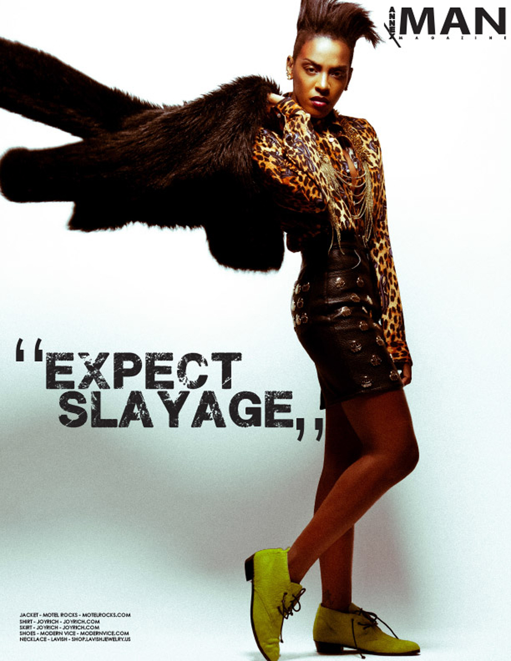Dawn Richard Photographed by Bradford Rogne