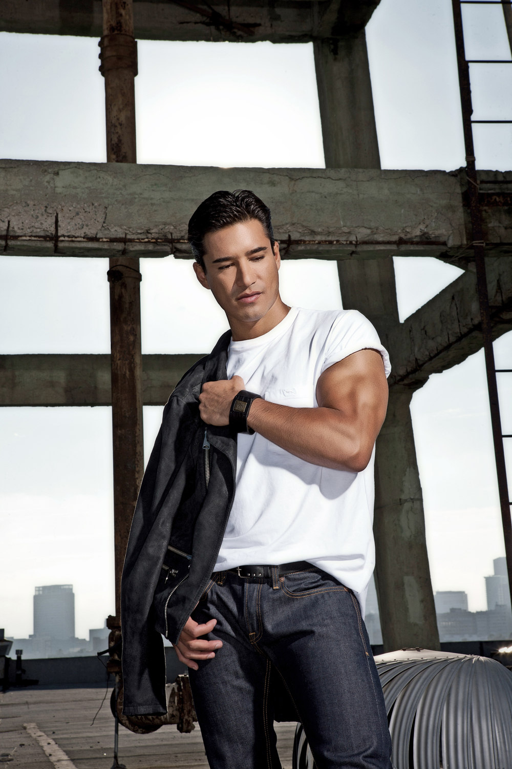 Mario Lopez Photographed by Bradford Rogne